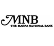 The Marfa National Bank logo