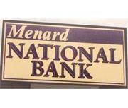 Menard National Bank logo