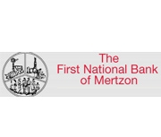 The First National Bank of Mertzon logo
