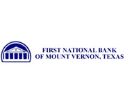 The First National Bank of Mount Vernon logo