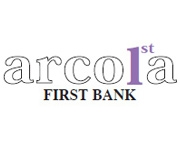 The First National Bank of Arcola logo