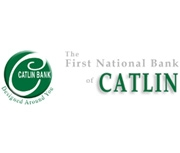 The First National Bank of Catlin logo
