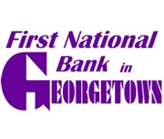 First National Bank In Georgetown logo