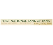 First National Bank of Pana logo