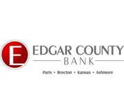 The Edgar County Bank and Trust Co., Paris, Illinois logo