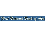 The First National Bank of Ava logo