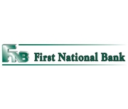 The First National Bank of Raymond logo