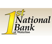 First National Bank of Waterloo logo