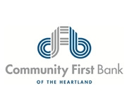 Community First Bank of the Heartland logo