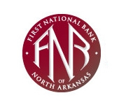The First National Bank of Berryville logo