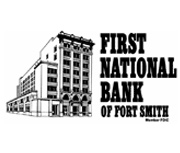 The First National Bank of Fort Smith logo