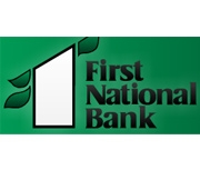 The First National Bank In Green Forest logo