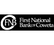 The First National Bank of Coweta logo