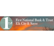 The First National Bank of Elk City logo
