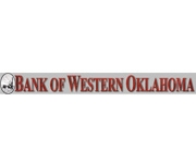 Bank of Western Oklahoma logo