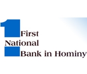First National Bank In Hominy logo