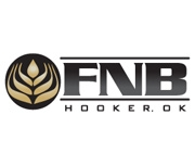 The First National Bank of Hooker logo