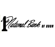 The First National Bank of Odon logo