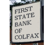 First State Bank of Colfax logo