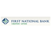 The First National Bank In Creston logo