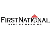 The First National Bank of Manning logo