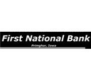 The First National Bank of Primghar logo