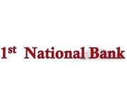 The First National Bank of Nevada, Missouri logo