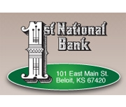 The First National Bank of Beloit logo