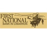 The First National Bank In Cimarron logo