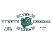 The First National Bank of Hope logo
