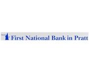 First National Bank In Pratt logo
