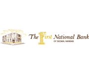 The First National Bank of Sedan logo