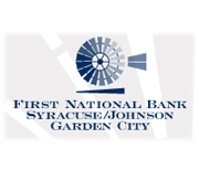 The First National Bank of Syracuse logo