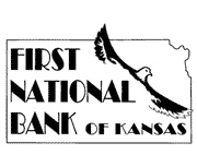First National Bank of Kansas (Burlington, KS) logo