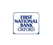 The First National Bank of Oxford logo