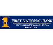 The First National Bank of Pontotoc logo