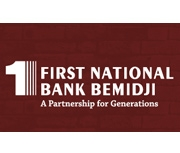 The First National Bank of Bemidji logo