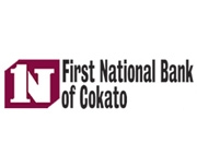 The First National Bank of Cokato logo