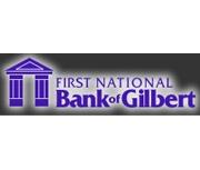 The First National Bank of Gilbert logo