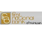 The First National Bank of Mcintosh logo