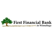 First Financial Bank In Winnebago logo