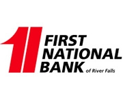 The First National Bank of River Falls logo