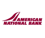 The American National Bank of Sidney logo