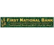The First National Bank of Shiner logo