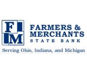 The Farmers & Merchants State Bank logo