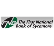 The First National Bank of Sycamore logo