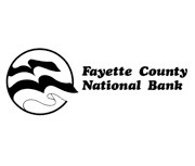 The Fayette County National Bank of Fayetteville logo