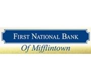 The First National Bank of Mifflintown logo