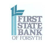 First State Bank of Forsyth logo