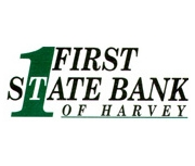 First State Bank of Harvey logo